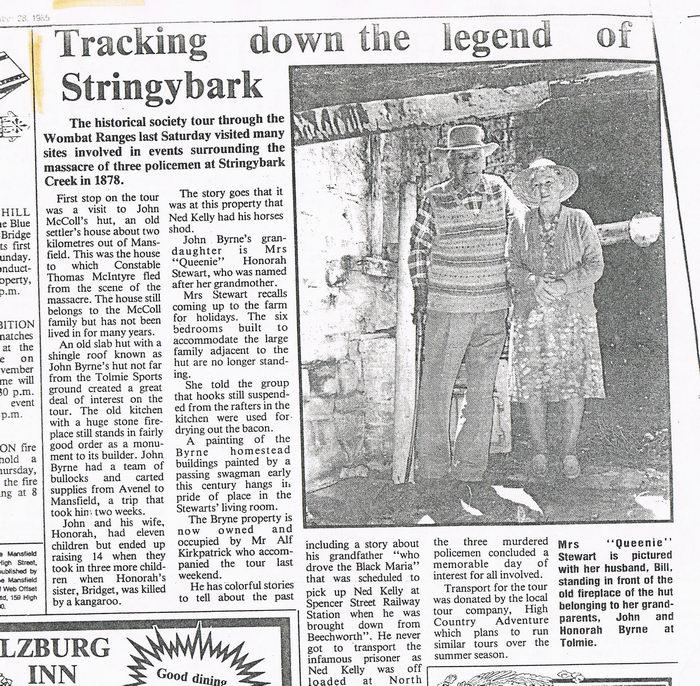 Stringybark creek  - Page 2 Billstewartandqueenie